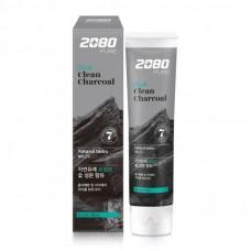 Отбеливающая зубная паста с углём Dental Clinic 2080 Black Clean Charcoal Toothpaste