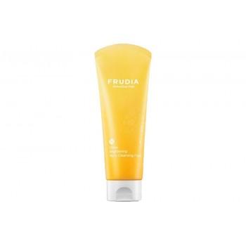 Пенка для умывания с цитрусом придающая сияние Frudia Citrus Brightening Micro Cleansing Foam