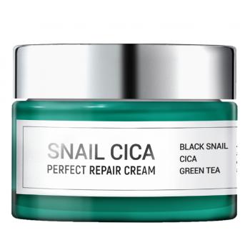 Восстанавливающий крем для лица с муцином улитки и центеллой Snail Cica Perfect Repair Cream