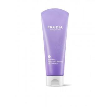 Увлажняющая гель-пенка для умывания с черникой Frudia Blueberry Hydrating Cleansing Get To Foam
