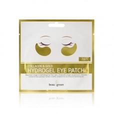 Патчи д/глаз Beauugreen Collagen & Gold (1 шт)