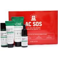 Набор миниатюр с кислотами для проблемной кожи Some By Mi AC SOS AHA-BHA-PHA 30 Days Miracle AC SOS Kit