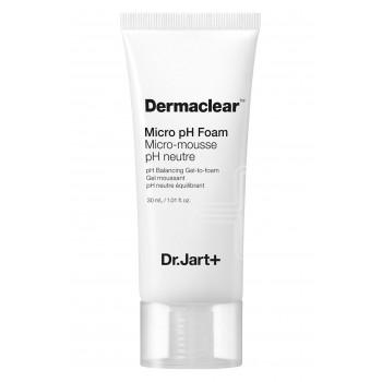 Мягкая гель-пенка Dr.Jart+ Dermaclear Micro pH Foam Micro-Mousse pH Neutre Balancing Gel-to-foam
