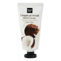 Крем для рук с маслами ши и кокоса FarmStay Tropical Fruit Coconut & Shea Butter Hand Cream