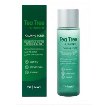 Успокаивающий тонер для проблемной кожи с чайным деревом и центеллой азиатской Trimay Tea Tree Tiger Leaf Calming Toner