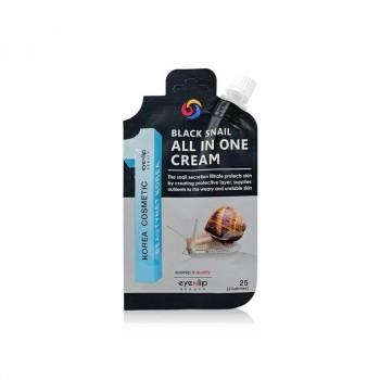 Многофункциональный крем с муцином черной улитки EYENLIP Black Snail All In One Cream