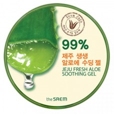 УНИВЕРСАЛЬНЫЙ ГЕЛЬ АЛОЭ ДЛЯ ТЕЛА И ЛИЦА THE SAEM JEJU FRESH ALOE SOOTHING GEL 99%