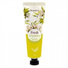 Крем для рук парфюмированный Deoproce Green Tea Perfumed Hand Cream