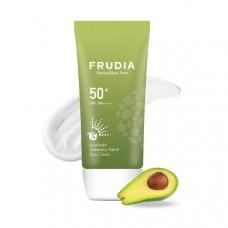 Солнцезащитный восстанавливающий крем с авокадо Frudia Avocado Greenery Relief Sun Cream SPF 50+ PА++++