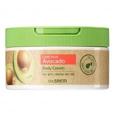 Питательный крем для тела с экстрактом авокадо The Saem Care Plus Avocado Body Cream