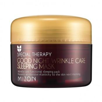 Ночная антивозрастная маска для лица Mizon Good Night Wrinkle Care Sleeping Mask