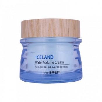Минеральный крем на основе ледниковой воды для комбинированной кожи THE SAEM Iceland Hydrating Water Volume Cream For Combination Skin