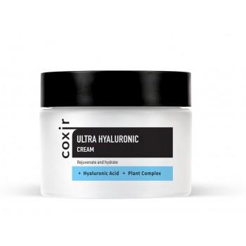 Мультифункциональный увлажняющий крем для лица с гиалуроновой кислотой COXIR Ultra Hyaluronic Cream