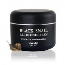 Восстанавливающий крем для лица с фильтратом муцина улитки Eyenlip Snail All in One Repair Cream