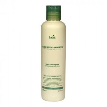 Освежающий шампунь с хной, кактусом и ментолом Lador Pure Henna Shampoo
