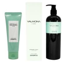Аюрведический шампунь от выпадения волос из экстрактов целебных трав Valmona Ayurvedic Scalp Solution Black Cumin Shampoo