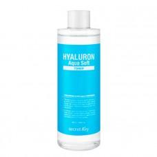 Гиалуроновый тонер для лица с эффектом пилинга Secret Key Hyaluron Soft Micro-Peel Toner