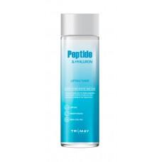 Антивозрастной тонер с 3 видами пептидов и с гиалуроновой кислотой Trimay Peptide Hyaluron Lifting Toner