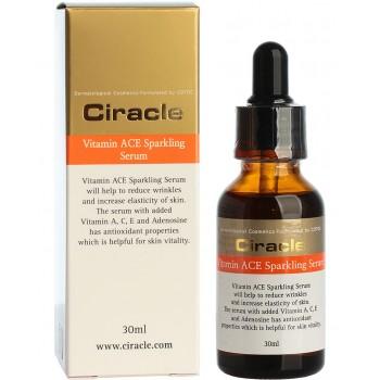 Антивозрастная сыворотка для лица на основе трех витаминов Ciracle Vitamin ACE Sparkling Serum