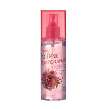 Гель - мист для увлажнение кожи лица с экстрактом граната FarmStay It Is Real Gel Mist Pomegranate