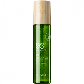 Освежающий мист для лица с соком алоэ The Saem Jeju Fresh Aloe Mist