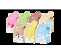 Молочные тканевые маски A'Pieu Milk One Pack
