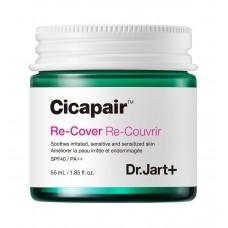 Крем - корректор для проблемной и чувствительной кожи Dr.Jart+ Cicapair Derma Re-Cover SPF40/PA++