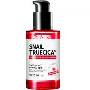 Восстанавливающая сыворотка с муцином чёрной улитки Some By Mi Snail Truecica Miracle Repair Serum