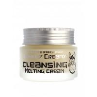 Очищающий крем с молоком ослиц для снятия макияжа Elizavecca Donkey Piggy Donkey Creamy Cleansing Melting Cream