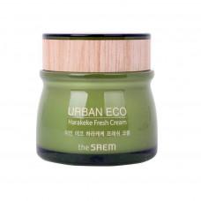 Освежающий крем для лица на основе новозеландского льна The Saem Urban Eco Harakeke Fresh Cream