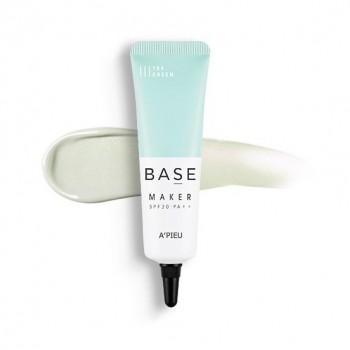 Выравнивающая база под макияж A'Pieu Base Maker Green