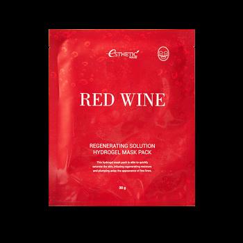 Гидрогелевая маска с экстрактом красного вина Esthetic House Red Wine Regenerating Solution Hydrogel Mask Pack