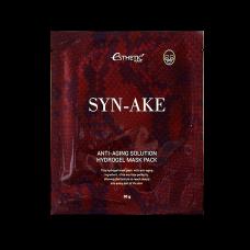 Гидрогелевая маска для разглаживания и уменьшения глубины морщин со змеиным пептидом Esthetic House Syn-Ake Anti-Aging Solution Hydrogel Mask Pack