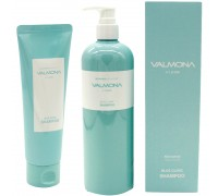 Восстанавливающий увлажняющий шампунь для волос Valmona Recharge Solution Blue Clinic Nutrient Shampoo
