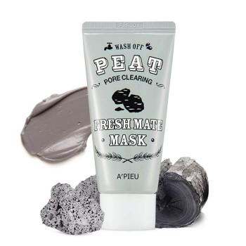 Очищающая маска с вулканическим пеплом Apieu Fresh Mate Peat Pore Clearing Mask