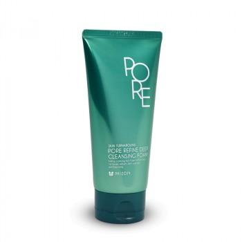 Мятная охлаждающая пенка для жирной кожи Mizon Pore Refine Deep Cleansing Foam