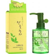 Гидрофильное масло с экстрактом зеленого чая Welcos Green Tea Deep Cleansing Oil