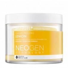 Трёхслойные пилинговые диски с экстрактом лимона Neogen Dermalogy Bio Peel Gauze Peeling Lemon