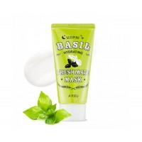 Ночная увлажняющая маска с экстрактом базилика и баобаба Apieu Fresh Mate Basil Hydrating Sleeping Mask