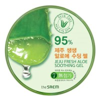 УНИВЕРСАЛЬНЫЙ ГЕЛЬ АЛОЭ ДЛЯ ТЕЛА И ЛИЦА THE SAEM JEJU FRESH ALOE SOOTHING GEL 95%