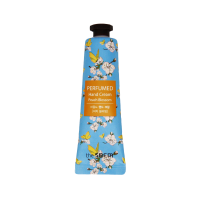 Ароматный крем для рук с экстрактом персика The Saem Perfumed Hand Cream Peach Blossom