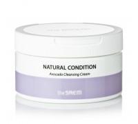 Очищающий крем для снятия макияжа с экстрактом авокадо The Saem Natural Condition Avocado Cleansing Cream