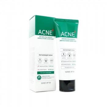 Очищающая пенка для проблемной кожи Some By Mi AHA-BHA-PHA 30 Days Miracle Acne Clear Foam