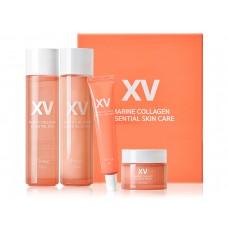 Интенсивно увлажняющий набор для лица на основе морского коллагена Esthetic House Marine Collagen Essential Skin Care Set