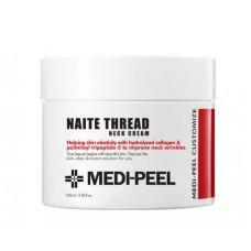 Подтягивающий крем для шеи с пептидным комплексом MEDI - PEEL Naite Thread Neck Cream