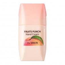 """Крем для рук """"персиковый пунш""""  The Saem Fruits Punch Peach Hand Cream"""