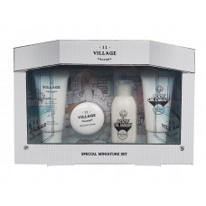 Увлажняющий набор средств для лица и тела Village 11 Factory Special Miniature Set (Cleansing Form+Cream+Body Oil Wash+Body Oil Cream)