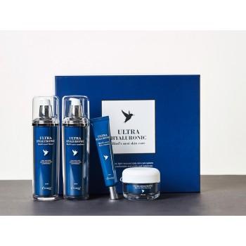 Увлажняющий набор для лица на основе гиалуроновой кислоты и ласточкиного гнезда Esthetic House Ultra Hyaluronic Acid Bird's Nest Skin Care Set