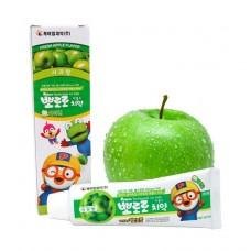 Детская зубная паста со вкусом яблока Pororo Toothpaste For Kids #Apple