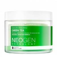 Трёхслойные пилинговые диски с экстрактом зеленого чая Neogen Dermalogy Bio Peel Gauze Peeling Green Tea
